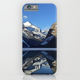 Robson: Reflection with Whitehorn Mountain iPhone Case