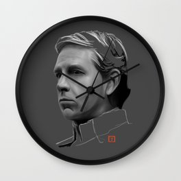 Orson Krennic: sketch-painting Wall Clock