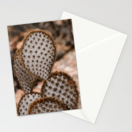 Prickly Pear - Opuntia Chlorotica Stationery Cards