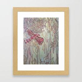 Coopers Hawk for Grandpa John Framed Art Print
