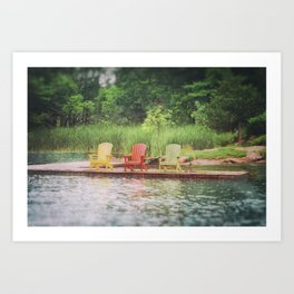 Adirondack Art Print