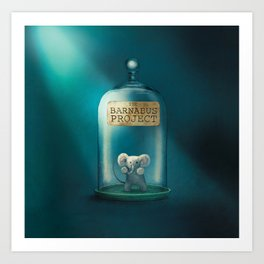 The Barnabus Project - Cover Art Print