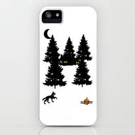 Loup en forêt (Maxime T) iPhone Case