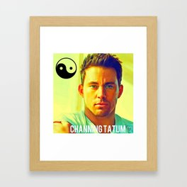 Channing Tatum  Framed Art Print