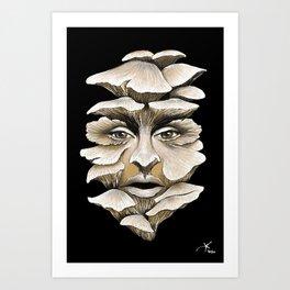 Mycelium Spirit Art Print