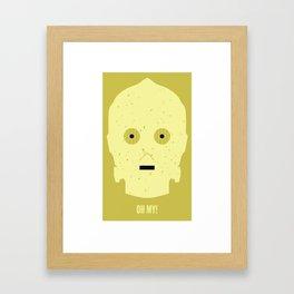 OH MY! Framed Art Print