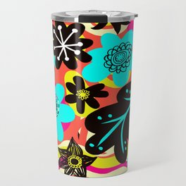 Funky colors Travel Mug