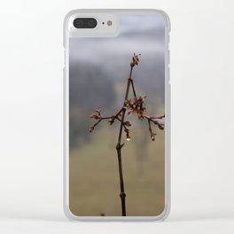 Autumn Storm Clear iPhone Case