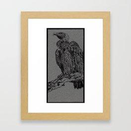 Vulture (DirtyDecibels) Framed Art Print