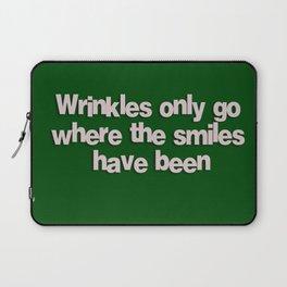 Wrinkles Laptop Sleeve