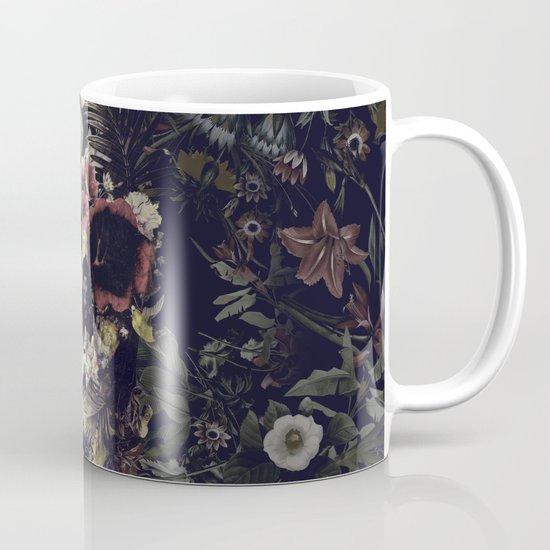 Garden Skull Mug