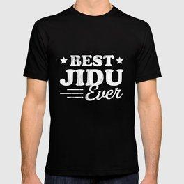 Best Jidu Ever Shirt - Syrian Grandpa TShirt T-shirt