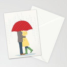 Raindrops Keep Fallin' Stationery Cards