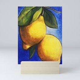 Sicilian Lemons Mini Art Print