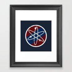 Big Bang Party Framed Art Print