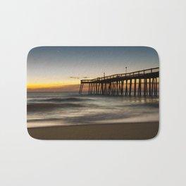 Motion of the Ocean - Sunrise Coastal Landscape Photo Bath Mat