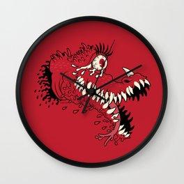 One Eyed Blood Beast Wall Clock