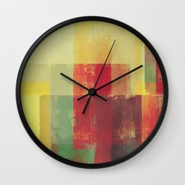 Abstract Geometry No. 22 Wall Clock