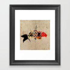 carp_koi_ink Framed Art Print