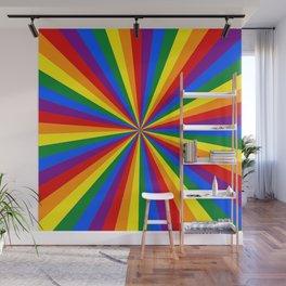 Eternal Rainbow Infinity Pride Wall Mural