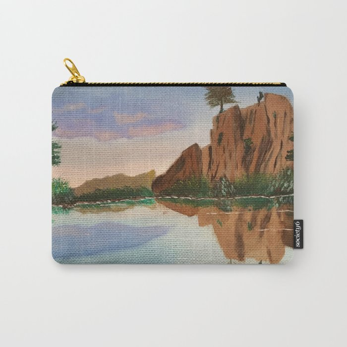 Cliffside Reflections Carry-All Pouch