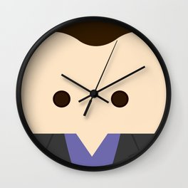 Christopher Eccleston, 9th Doctor Wall Clock