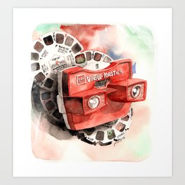 Vintage gadget series: View-Master Model G Art Print
