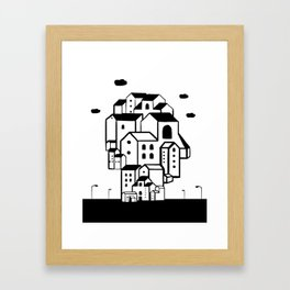 where is your home? Framed Art Print