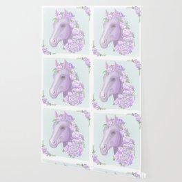 The Purple Horse Wallpaper