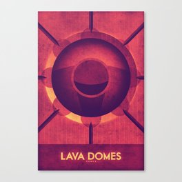 Venus - Lava Domes Canvas Print