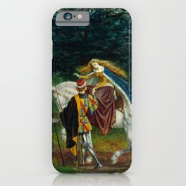 "Walter Crane ""La belle Dame Sans Merci"" iPhone Case"