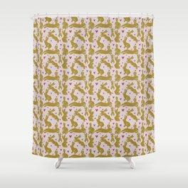 Bunny Love - Easter edition Shower Curtain