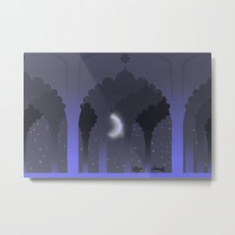 Palace Nights Metal Print