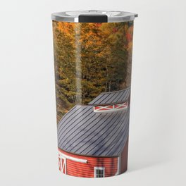 Vermont Sugar Shack Autumn Travel Mug