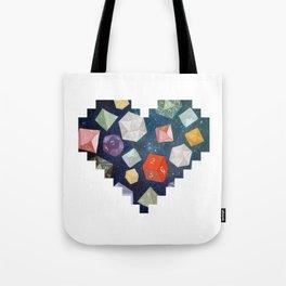 Heart of Dice Tote Bag