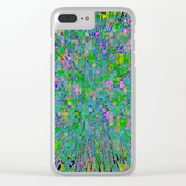 Pixel City Clear iPhone Case