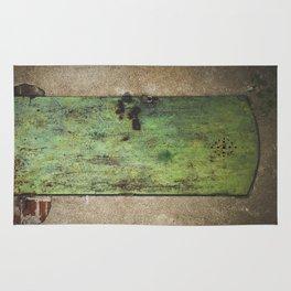 Rusty Green Door Rug