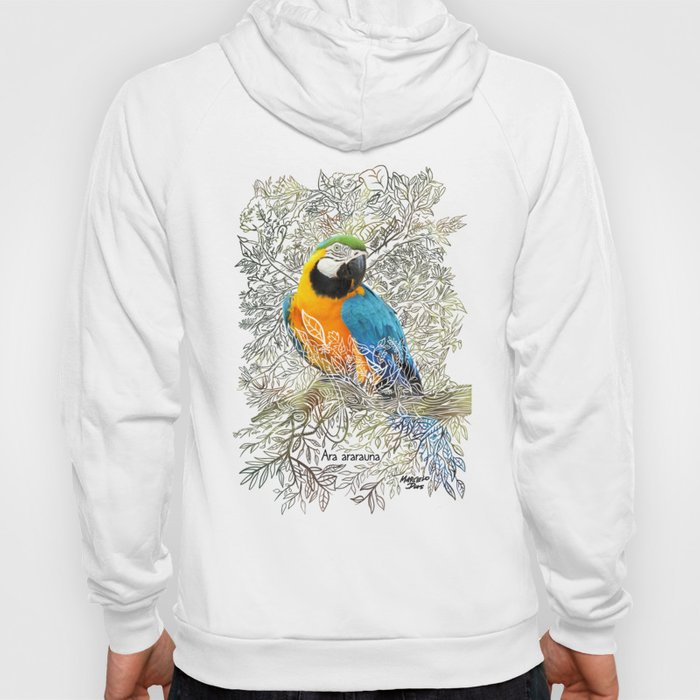 The macaw - Rainforest Series Hoody