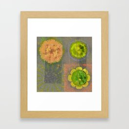 Wheresoever Balance Flower  ID:16165-142355-00811 Framed Art Print