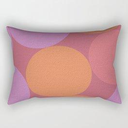 Sunset Shadows Moon Rectangular Pillow