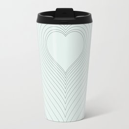 Love Heart Pattern #society6 #love #buyart Travel Mug