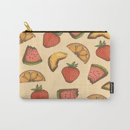Fruit Pattern Carry-All Pouch
