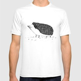 Monochrome Hedgehog T-shirt
