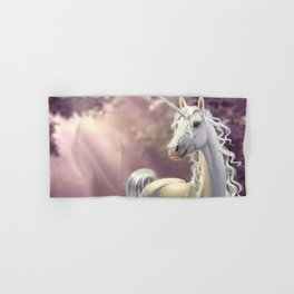 Unicorn in the forest Hand & Bath Towel