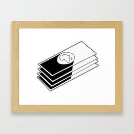 Black Market Framed Art Print