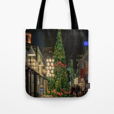 Boston is ready for Christmas  Tote Bag