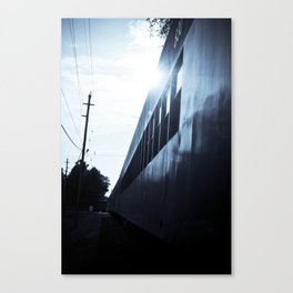 A TICKET OUT OF HERE. Canvas Print