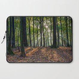Beech Woodland Sunrise Laptop Sleeve