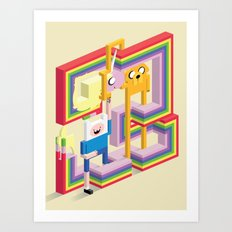 Mathematical! Art Print