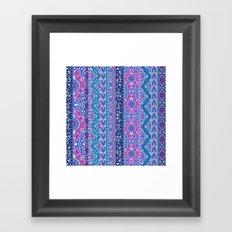 Farah Stripe Framed Art Print
